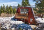 Home in Tahoe Donner | 13443 Skislope Way | Exterior View