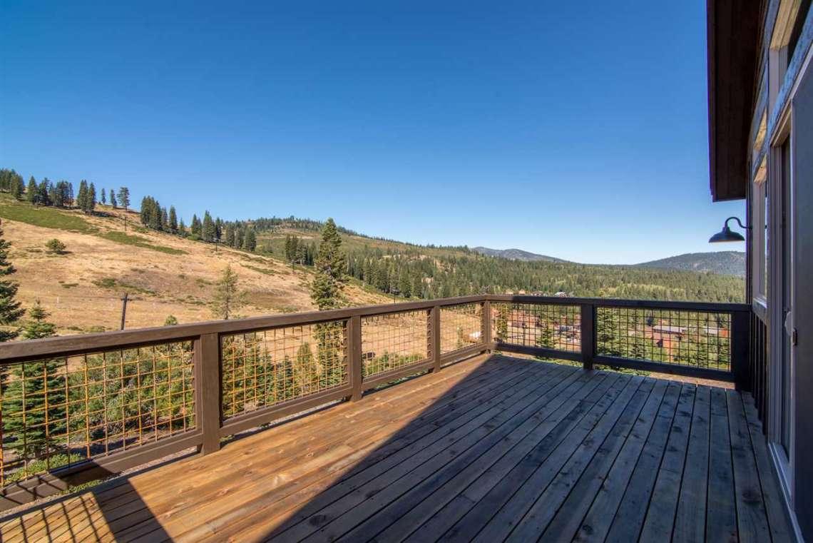 Tahoe Donner Ski Resort View