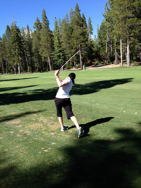 Golf Lesson at Tahoe Donner Golf Course