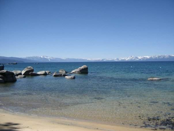 Brockway Lakefront Beach | Lake Tahoe Real Estate