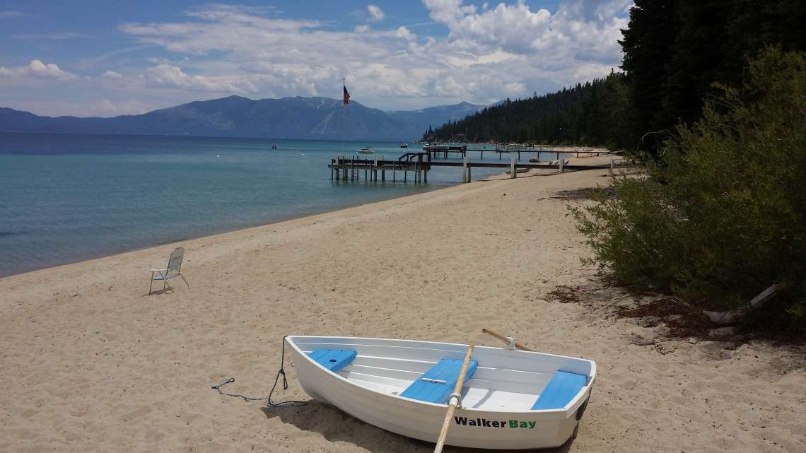 The Gold Coast of Lake Tahoe in Rubicon Bay