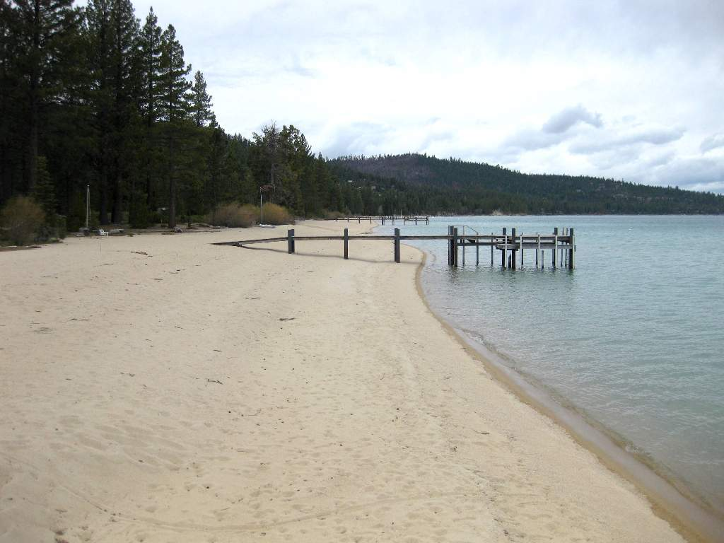 Rubicon Lakefront Sandy Beach on Lake Tahoe
