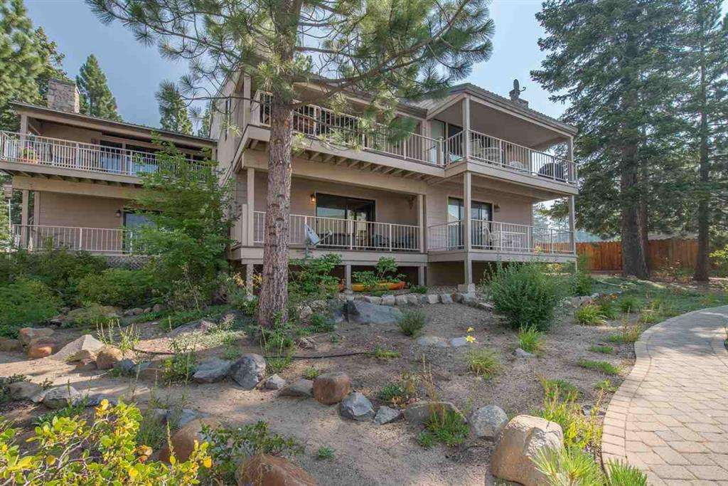 Tahoe Vista Condo | 7580 North Lake Blvd | Exterior Building View