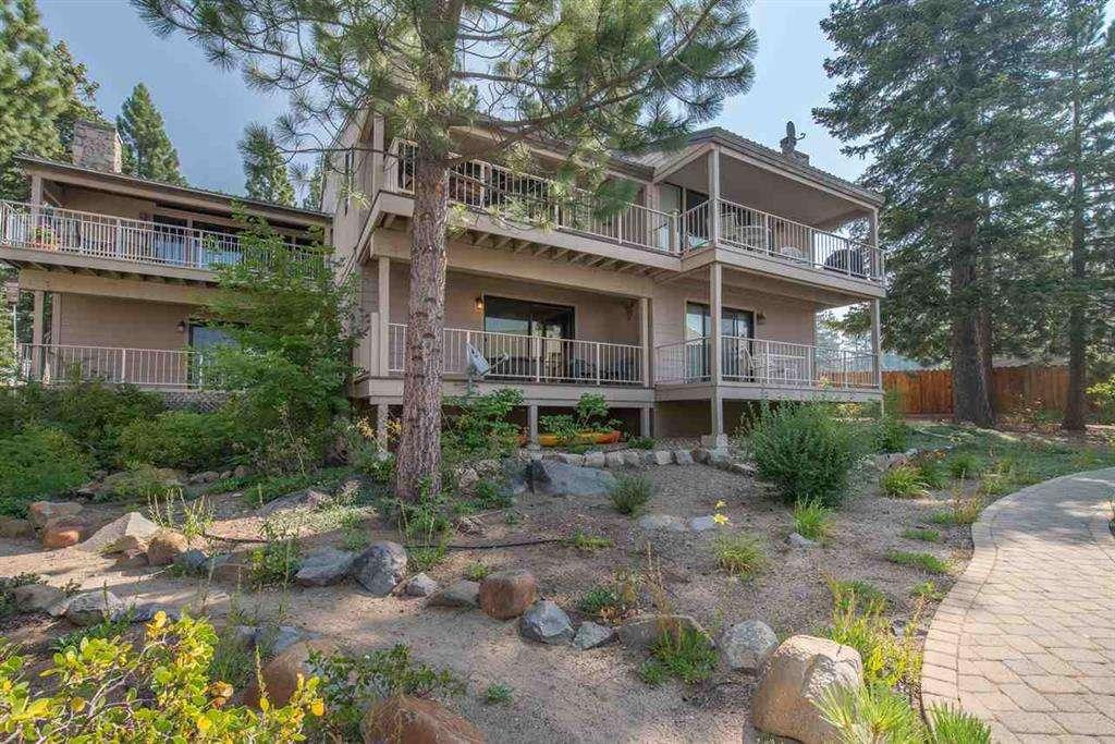 Tahoe Vista Condo | 7580 North Lake Blvd | Exterior Building View