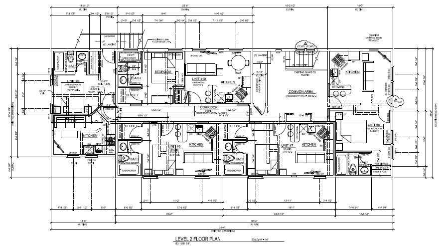 Second Level Floor Plan of Apartments for Sale Truckee CA | Truckee Commercial Real Estate