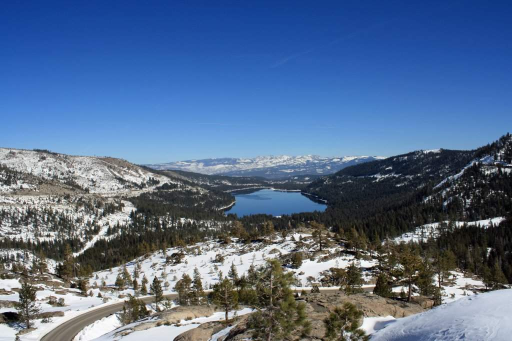 Donner Lake Real Estate | View of the Sierra Mountains
