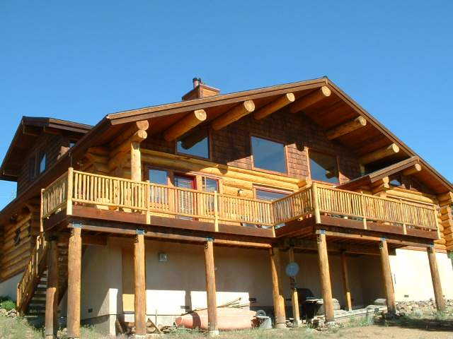 Log Cabin Tahoe Donner Real Estate