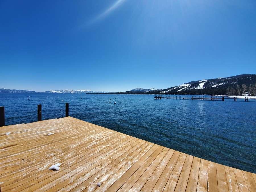 Homewood, CA Lakefront Pier
