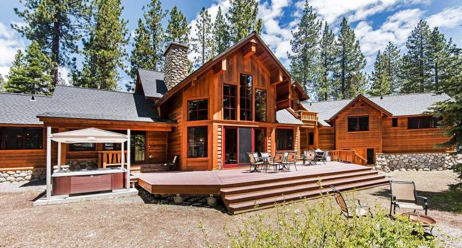 Luxury Mountain Lodge in Lake Tahoe