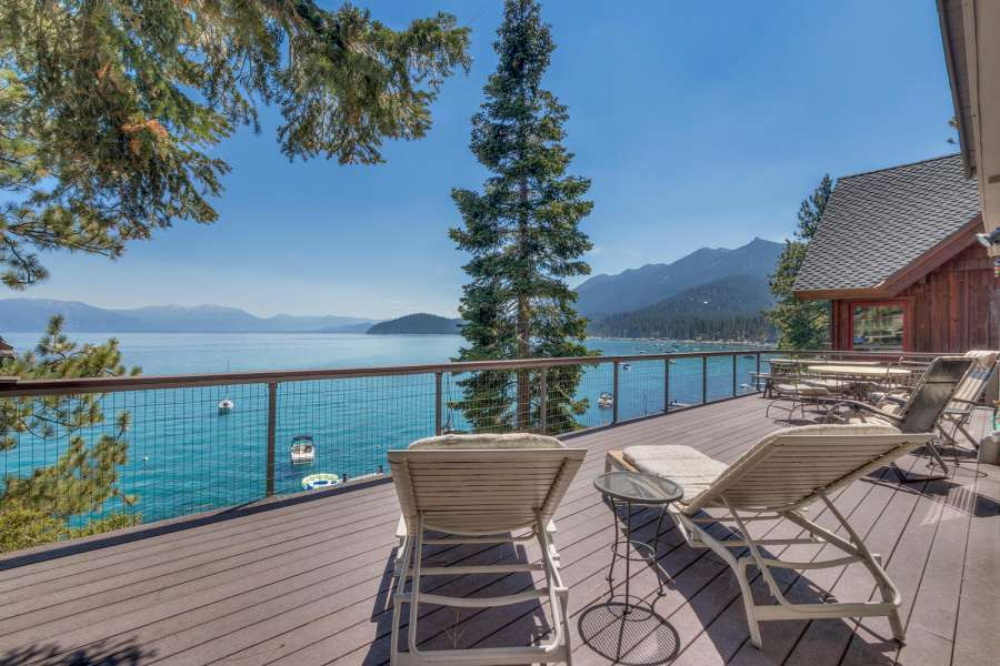 West Shore Lake Tahoe Lakefront Home