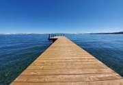 Lakefront Pier on the West Shore of Lake Tahoe
