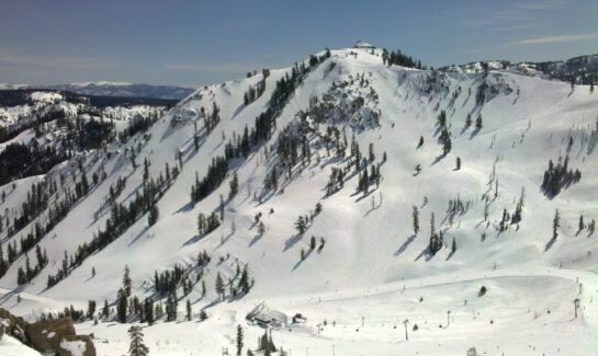 West Face of KT-22 at Squaw Valley