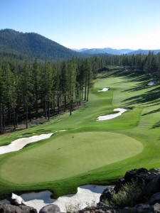 Image of Tom Fazio 18th Hole at Martis Camp for Truckee real estate page