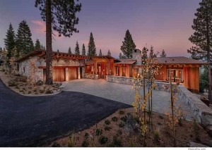10976 Olana Drive | Martis Camp Real Estate front view for Top 10 Luxury Home Sales in North Shore Lake Tahoe 2013 blog post