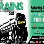 High Fives Trains Event at Alpine Meadows 04/20/2013