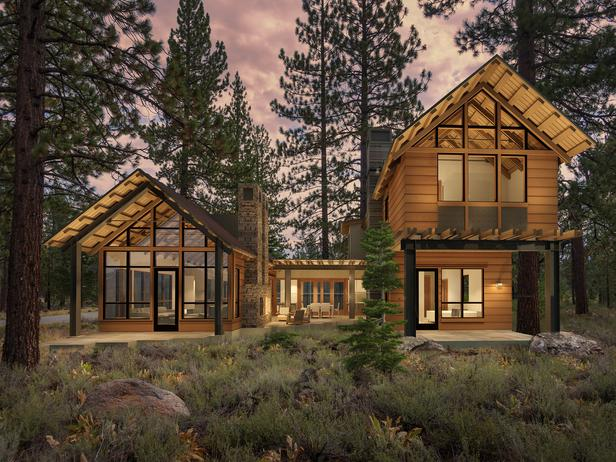Photo Courtesy of HGTV and Ward - Young Architects