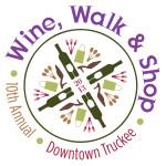 Downtown Truckee Wine, Walk & Shop logo