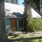 Front view of Lake Forest Cabin