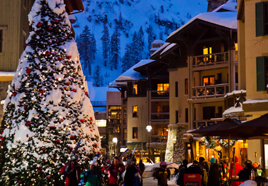 Holiday Festivities at Squaw Valley for celebrate the holidays in North Lake Tahoe blog post