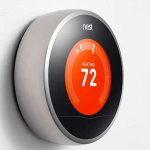 image of Nest smart thermostat for Control Your Lake Tahoe Home blog post