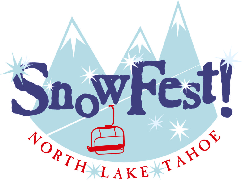 Snowfest logo for SnowFest! Returns to North Lake Tahoe