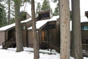 exterior snowy view of 6018 Mill Camp | Northstar condominium