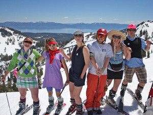 Alpine Meadows Snow Golf Tournament for Top 8 Spring Events in North Lake Tahoe
