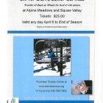$25 Lift Tickets to Squaw Valley and Alpine Meadows
