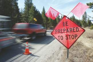Lake Tahoe Road Construction