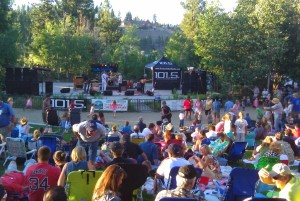 Wednesday Music in the park