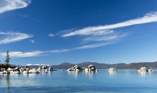 Image of Lake Tahoe for dog friendly beaches in Lake Tahoe