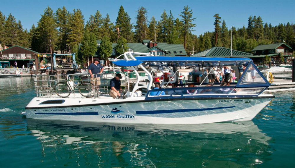 North Lake Tahoe Water Shuttle
