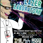 The Psychedelic Scientist's Lazer Laboratory