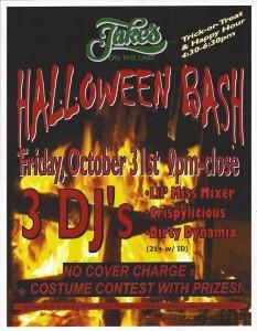 Jake's Halloween Bash