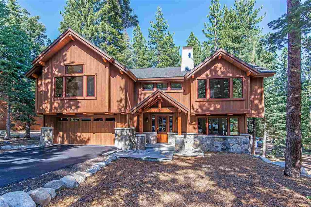 front image of 4516 Muletail Drive | Carnelian Bay Luxury Home