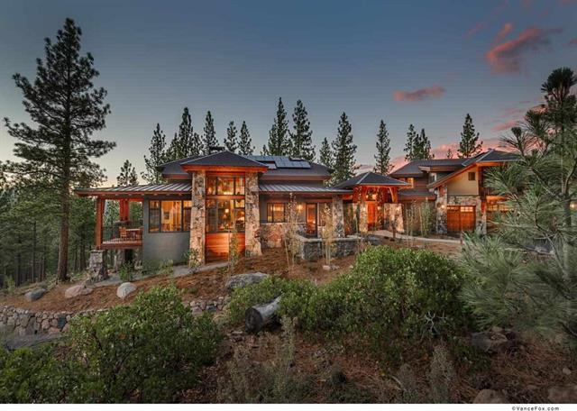 Martis Camp Real Estate | Image of beautiful Martis Camp custom luxury home
