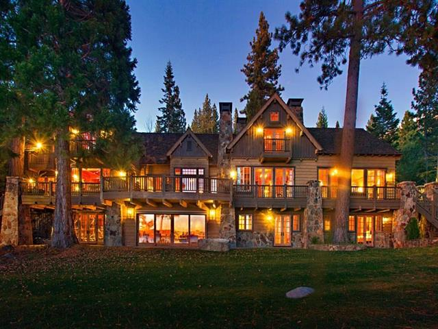 Top 8 listings in north lake tahoe truckee tahoe real for Luxury lake tahoe homes for sale