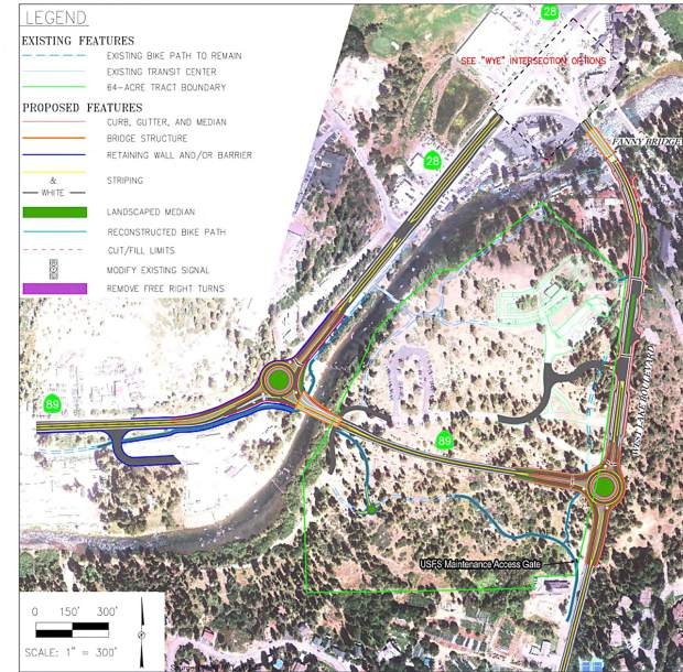 Proposed Fanny Bridge Project in Tahoe City for Tahoe City's Fanny Bridge Project blog post
