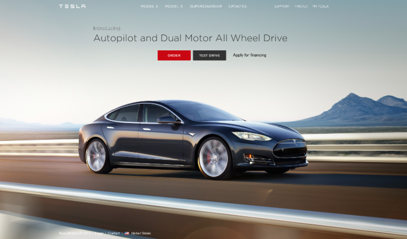 Test Drive a Tesla at Oliver Luxury Real Estate