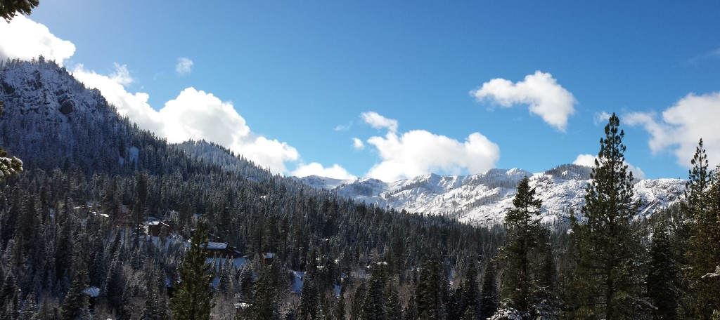 Image of view from Juniper Mountain Alpine Meadows Real Estate homes for sale