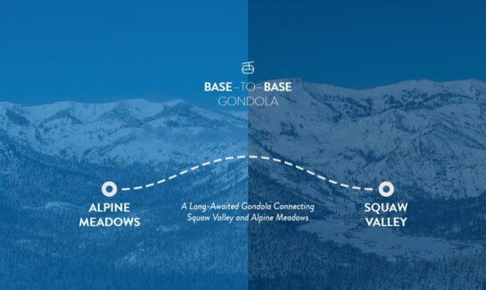 Squaw Valley and Alpine Meadows Gondola