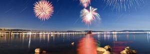 Lake Tahoe 4th of July 2017   Tahoe City Fireworks