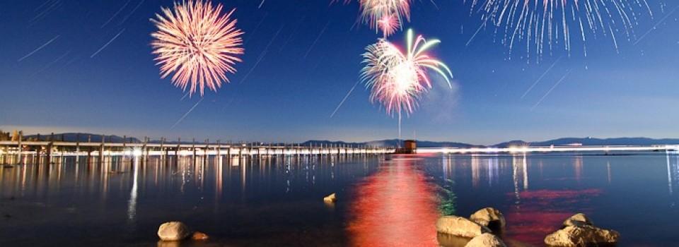 Tahoe City Fireworks