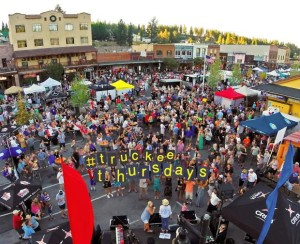 Downtown Truckee Thursdays for Tahoe 4th of July Events