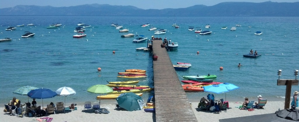 Image of Lake Tahoe pier for West Shore Real Estate page