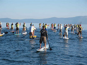 Tahoe Fall Classic Stand Up Paddleboard Race