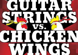 Guitar Strings vs. Chicken Wings Squaw Valley