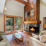 Image of fireplace in Lake Tahoe Ski Condo
