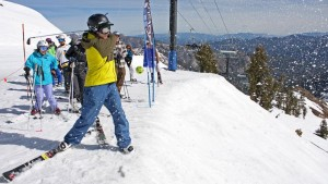 Snow Golf at Alpine Meadows for Spring Events in North Lake Tahoe post