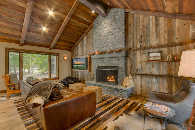 Image of beautiful Tahoe home interior for Sold 6355 Chamberland Drive | Chamberlands Real Estate blog post